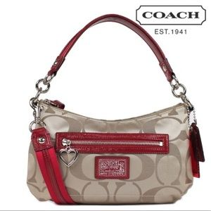 Coach Signature Convertible Crossbody Handbag